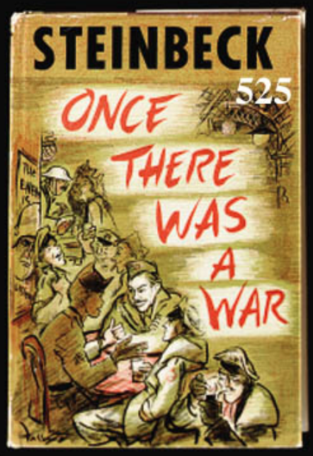 Marilyn Monroe's copy of Once There Was a War by John Steinbeck