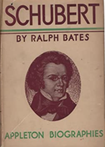Schubert by Ralph Bates, the same edition as the book Marilyn Monroe owned
