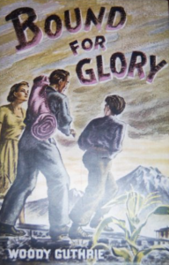 First edition of Bound for Glory by Woody Guthrie which Marilyn Monroe also owned